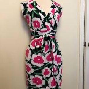 Diane von Furstenberg Cassidy flower dress, 6